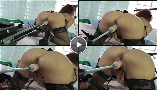 sex machine fucked for women video